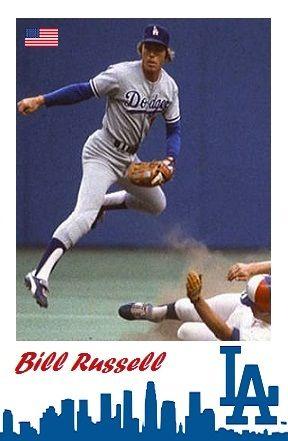Bill Russell Bill Russell Dodgers Los Angeles Dodgers