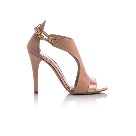 Scarpe Da Sposa Color Cipria.Sandali In Pelle Color Cipria Scarpe Da Sposa