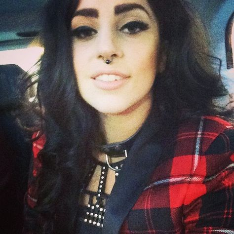 I want to look like Lady Gaga. She's too perfect here. I've bought myself a black ring for my septum and now I want to start wearing tartan!