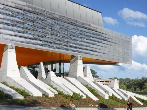 Idea Gates Hall by Morphosis Architects in Ithaca, United States