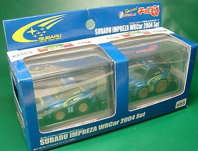 Japan Tomy Choro Q Subaru Impreza Sti Wrc 2004 Rally Racing Car Subaru Impreza Sti Rally Car Racing Subaru Impreza