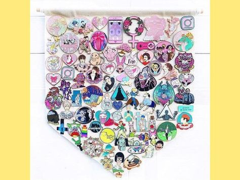 List of Pinterest enamel pin board display images & enamel pin board