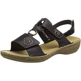 Rieker Damen 63687 Offene Sandalen Mit Keilabsatz Amazon De Schuhe Handtaschen In 2020 Frauen Sandalen Sommerschuhe Rieker Schuhe