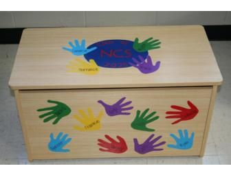 Place a bid on JK 4 Toy Chest - Student Artwork to help support the North Cross School fundraising auction.