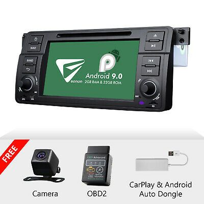 Details About Cam Obd Carplay For Bmw E46 320i 330ci M3 7 Android 9 0 Car Stereo Gps Dvd Radio In 2020 Car Stereo Bmw E46 Carplay