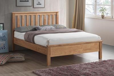 Worthing Oak Wooden Bed Frame 3ft Single In 2020 Wooden Bed