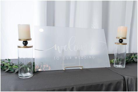 Acrylic head table sign   The Foundry   Utah Wedding Venue   Shout-out Saturday   Jessie and Dallin Photography #thefoundry #utahweddingvendors #utahweddingvenue #utahweddings #utahwedding #utahbride #utahbrideandgroom #ldsweddings #ldstemplewedding #ldsbride #indoorweddingvenue #rockymountainbride #utahbrideandgroom