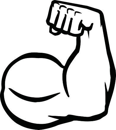Muscle Arm Clipart Google Search Culturismo Vector Brazos