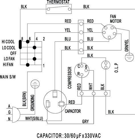 Voltas Split Ac Wiring Diagram