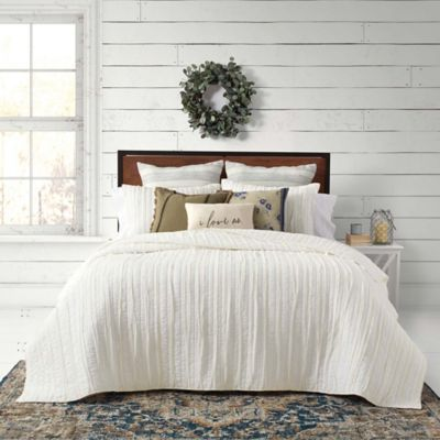 Bee Willow Home French Vintage Bedding Collection King Quilt