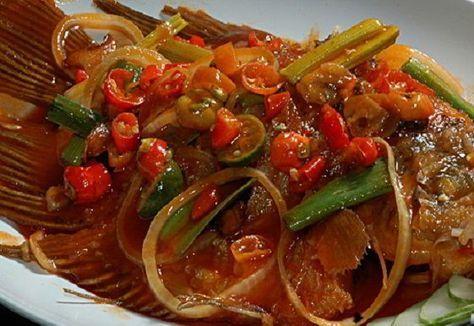 Resep Ikan Gurame Asam Manis Resep Ikan Resep Seafood Resep Masakan