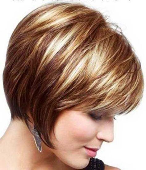 Kurze haare mit farbe