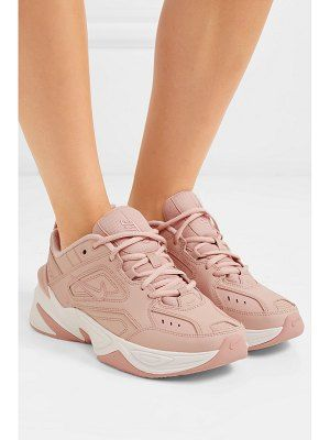 Nike m2k tekno leather and mesh sneakers | gimpies in 2019