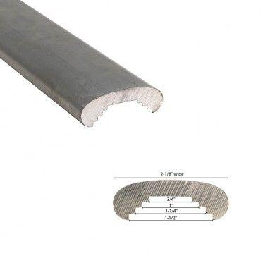 2 1 8 Wide Aluminum Handrail Molding 20ft Aluminum Handrail Handrail Aluminum