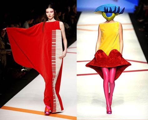 This year I did an internship at the fashion house of the Spanish designer Agatha Ruiz de la Prada.