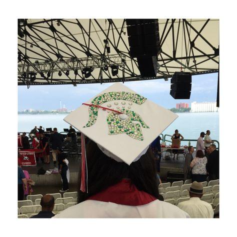 Graduation Cap! Michigan State Spartan