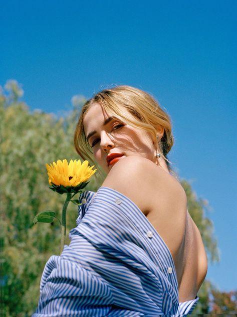 Zoey Deutch Talks Travel Beauty and Hair Fails
