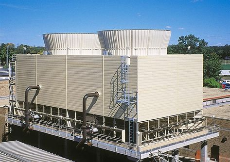Field Erected Pultruded Frp Cooling Towers Tower Tech Cooling