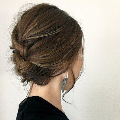可愛い髪の毛の結び方 自分で結んで出来る簡単可愛い髪型 ヘア