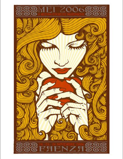 New Art Nouveau: Gloriously Ornate Posters