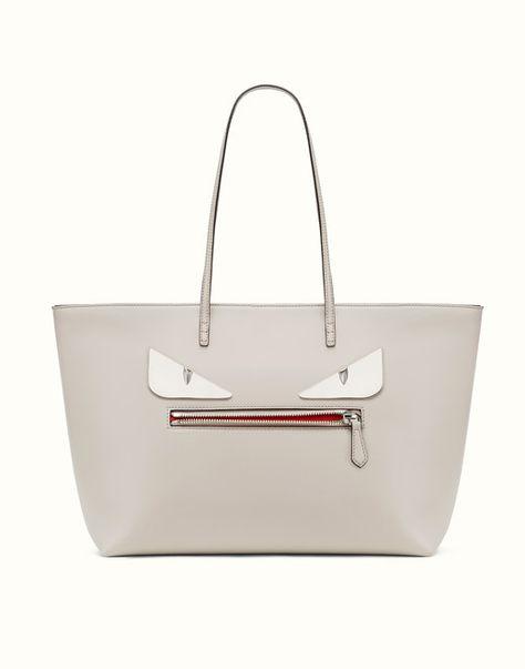 ee83e62b2c FENDI ROLL BAG - Bag Bugs gray leather tote bag - view 1 | Brag Bag ...