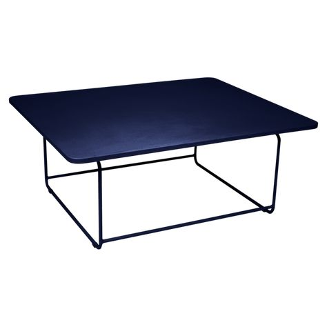 Ellipse low table, metal table for outdoor living space | JM ...