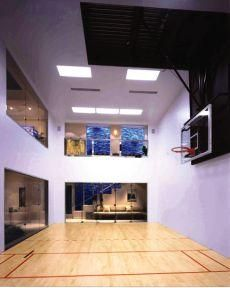 Barn for a personal indoor basketball court. MGa | Marcus ...