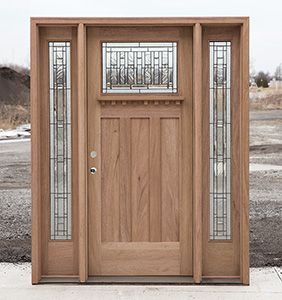 Clearance Exterior Doors With Sidelights In 2020 Exterior Doors