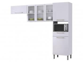 Cozinha Compacta Itatiaia Dandara 6 Portas 1 Gaveta Cozinha