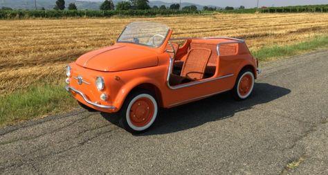 Fiat 500 Spiaggina Jolly Car