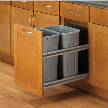23 best Trash Pull out Options images on Pinterest | Kitchen ...