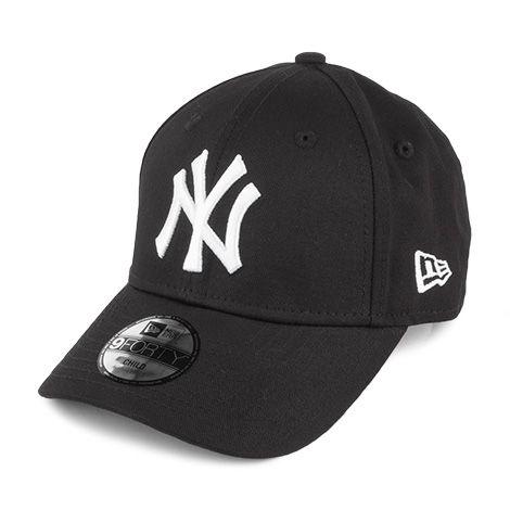 New Era Kids 9forty New York Yankees Baseball Cap Black In 2020 Yankees Baseball Cap New Era Kids New York Yankees Baseball