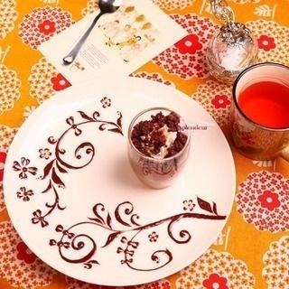 デザートプレート おしゃれまとめの人気アイデア Pinterest Chiharu バースデープレート チョコ 飾り 誕生日プレート