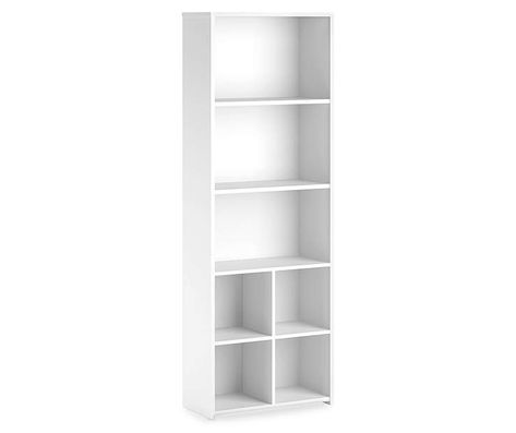 Build 5 Shelf White Cube Organizer