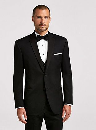 bbef9811705 BLACK By Vera Wang Black Notch Lapel
