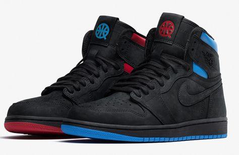 Detalles Acerca De Nike Air Jordan 1 Retro Alta Og Quai 54 Gs