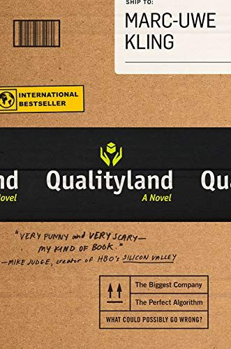 Qualityland In 2020 Fantasy Books Books Science Fiction