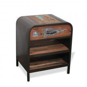 Table basse, sellette & console Chevet industriel L50cm