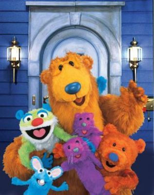 Bear In The Big Blue House 1997 Poster Big Blue House Blue House Little Kid Shows