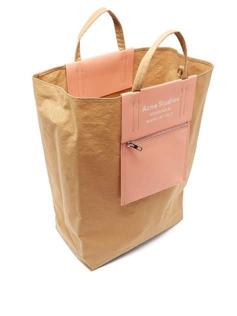 Leather Briefcase, Leather Pouch, Pink Leather, Big Tote Bags, Nylon Tote Bags, Duffle Bags, Paper Grocery Bags, Camo Purse, Acne Studios