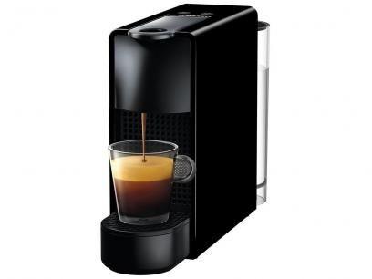 Cafeteira Expresso 19bar Nespresso Essenza Mini Preto Com 14 Capsulas Com As Melhores Condicoes Voce Encontra No Mag Cafeteira Cafe Nespresso Maquina De Cafe