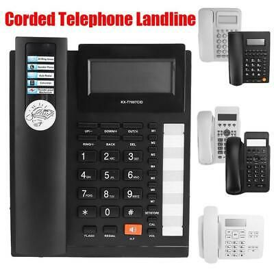 Ad Ebay Link Home Hotel Office Corded Telephone Landline Wired Desktop Fixed Phone Caller Id Caller Id Phone Office Phone