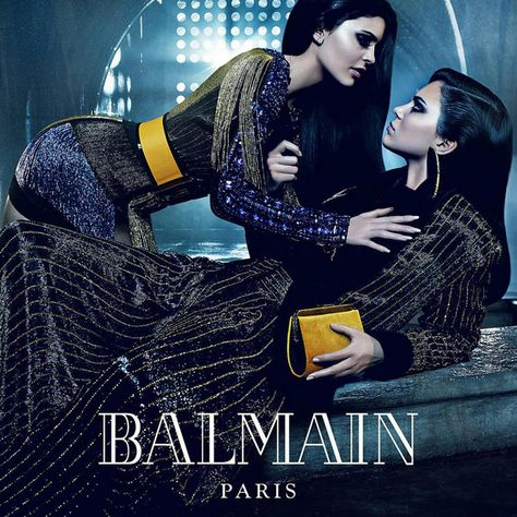 How to Create Smoky Eyes - Balmain campaign, Kylie and Kendall Jenner, Bella and Gigi Hadid