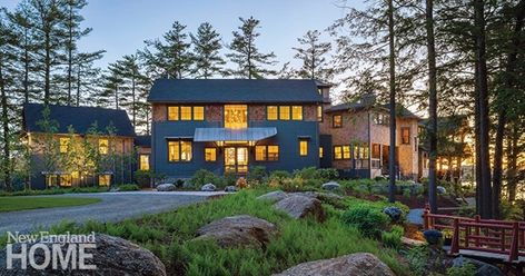 A Mix of Contemporary and Traditional in Wilton - New England Home Magazine