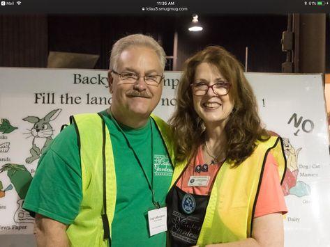 Harris County Master Gardener Edie With Craig Harris County Craig