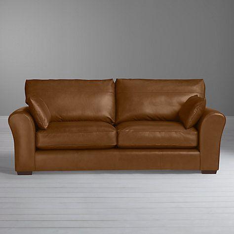 John Lewis Leon Large 3 Seater Leather