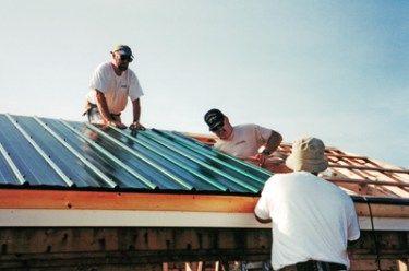 Metal Roof Installation In 2020 Metal Roofing Systems Metal Roofing Prices Metal Roof Installation