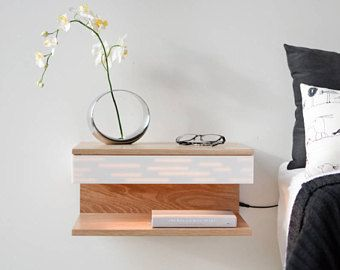 Floating Night Stand Nightstands Floating Nightstand Modern Etsy