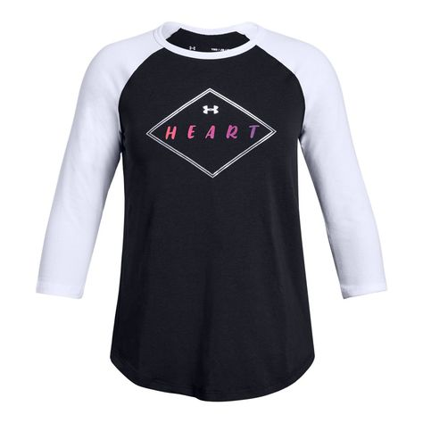 b34ba5cc Girls' UA SPWW Baseball T-Shirt   Under Armour US   Products