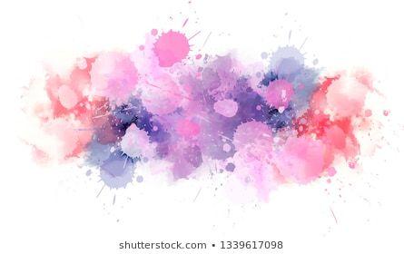 Pastel Light Watercolor Paint Splash Line Template For Your Designs Abstract Art Background Banner Br Watercolor Splash Flower Frame Png Paint Splash
